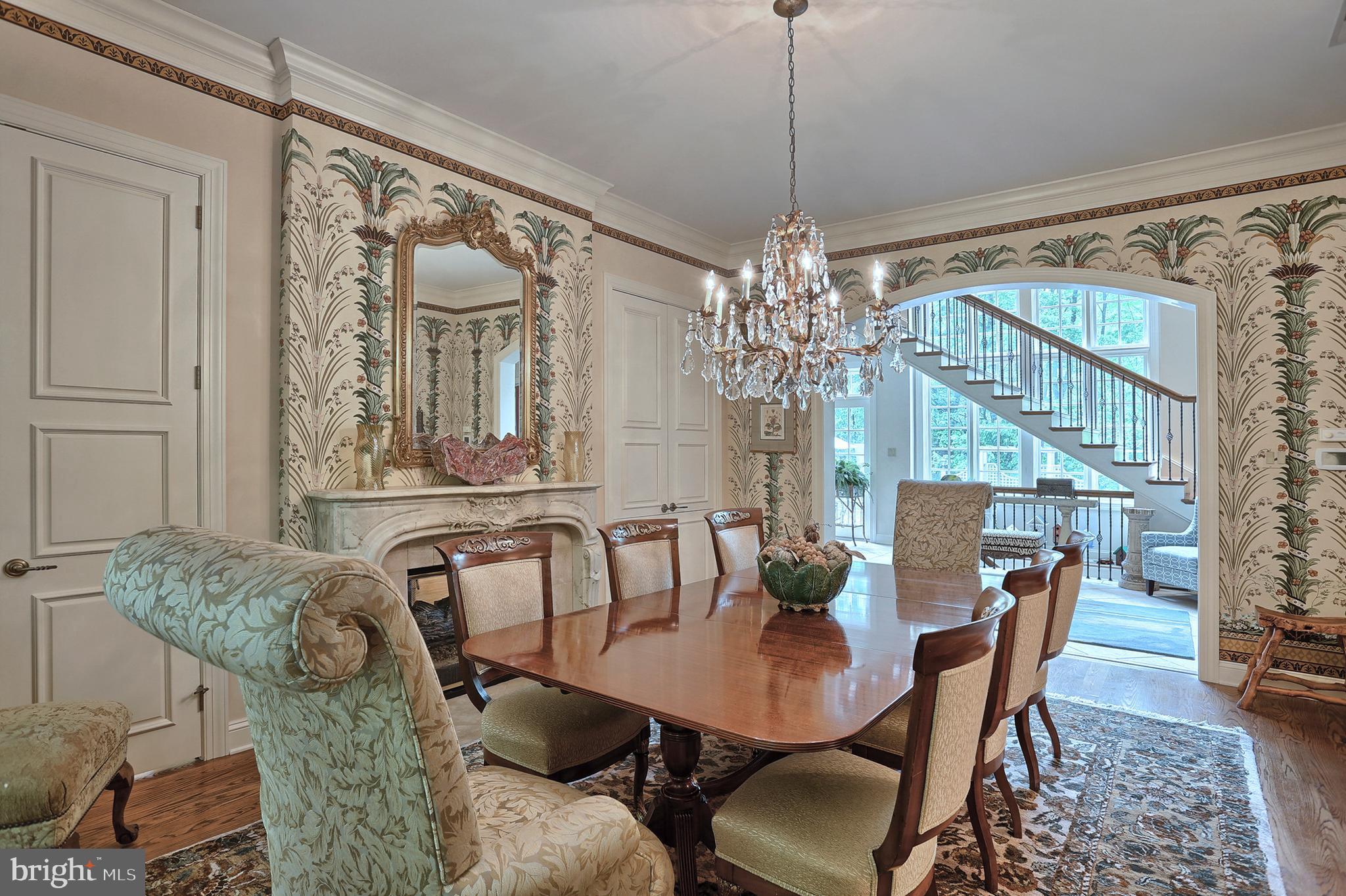 Dining Room toward Garden Room  -