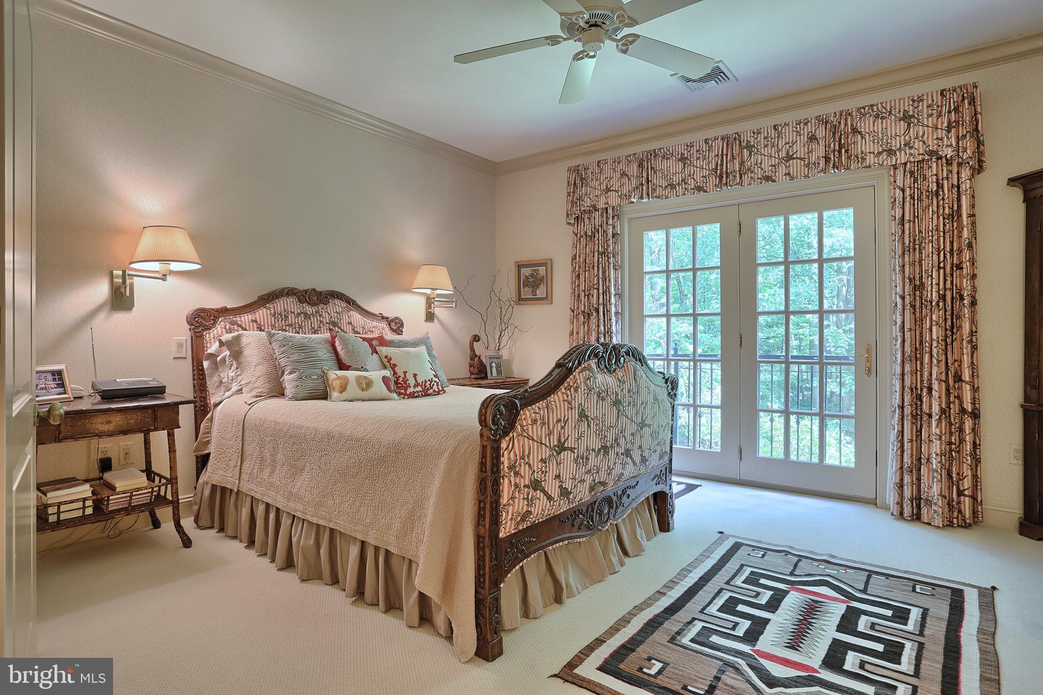Master Bedroom - Juliet balcony