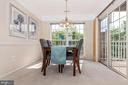 Large dining area - 2500 CATOCTIN CT #1-2B, FREDERICK