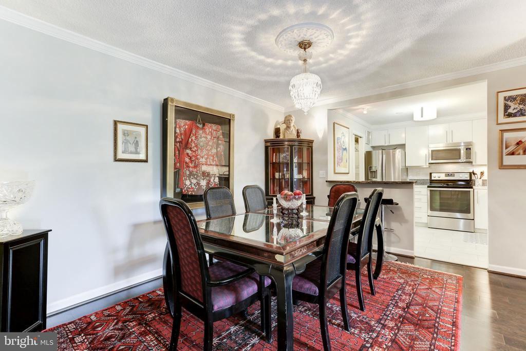 Formal Dining Room - 1800 OLD MEADOW RD #1020, MCLEAN