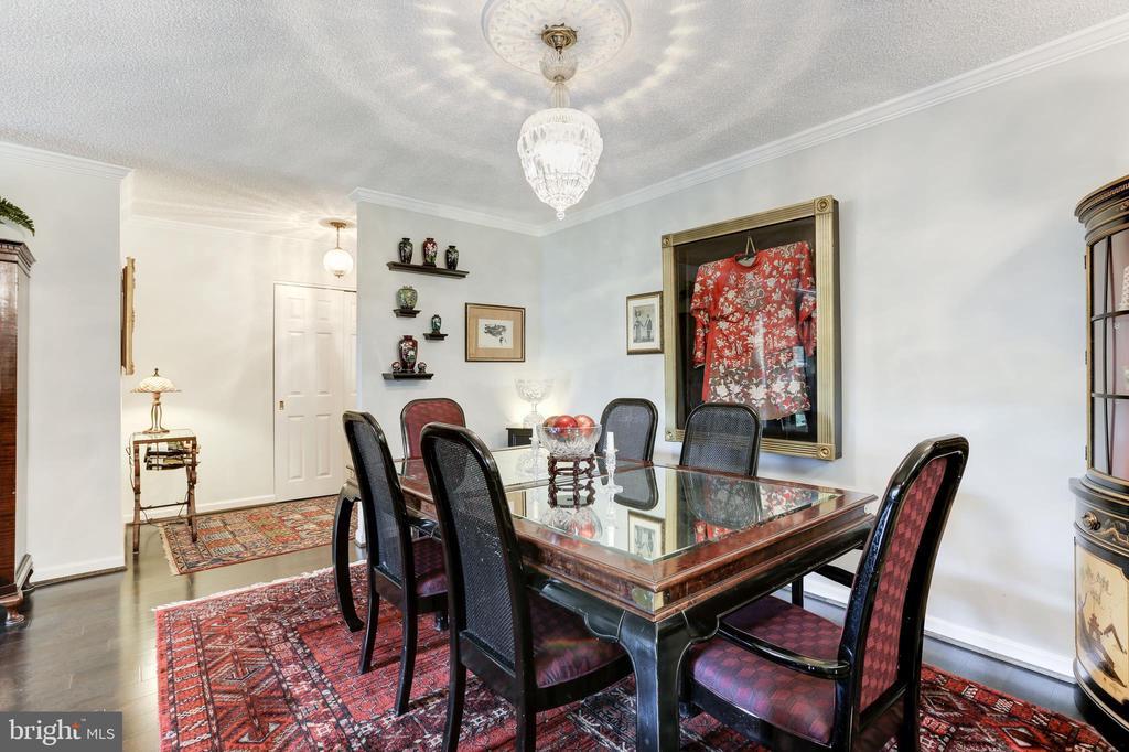 Dining Room - 1800 OLD MEADOW RD #1020, MCLEAN