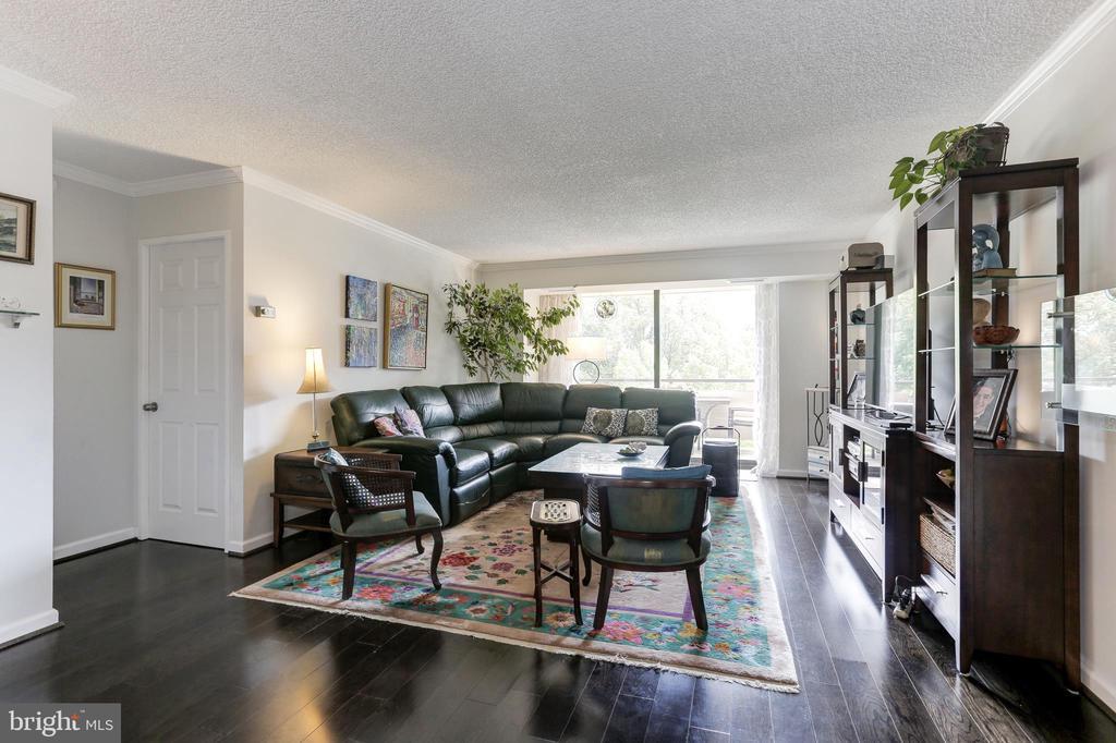 Large Living Room - 1800 OLD MEADOW RD #1020, MCLEAN