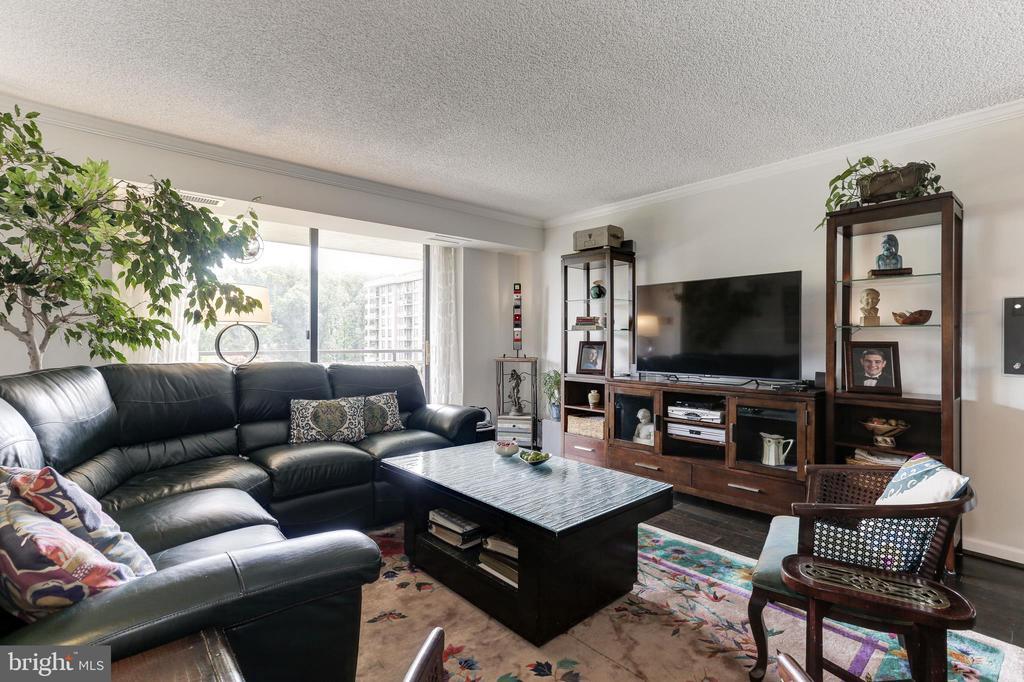 Living Room - 1800 OLD MEADOW RD #1020, MCLEAN