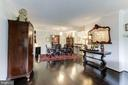Large Living and Dining Room - 1800 OLD MEADOW RD #1020, MCLEAN