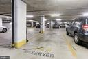 Parking spot for unit 1020 is close to elevator - 1800 OLD MEADOW RD #1020, MCLEAN