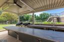 BBQ area that one can reserve - 1800 OLD MEADOW RD #1020, MCLEAN