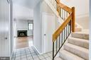 Fresh paint throughout both levels - 1955 WINTERPORT CLUSTER, RESTON