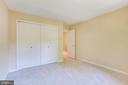 Bedroom 2 - wide closet! - 1955 WINTERPORT CLUSTER, RESTON