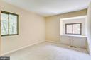 Bedroom 2 - built in cabinet/nook - 1955 WINTERPORT CLUSTER, RESTON