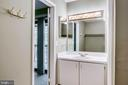 Private vanity gives room to prepare for the day - 1955 WINTERPORT CLUSTER, RESTON