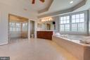 Spacious luxury shower - 17072 SILVER CHARM PL, LEESBURG