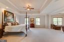 Elegant Master bedroom - 17072 SILVER CHARM PL, LEESBURG