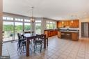 So much natural light in the kitchen - 17072 SILVER CHARM PL, LEESBURG