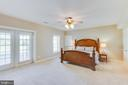 Lower level bedroom - 17072 SILVER CHARM PL, LEESBURG