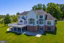 Drone Exterior Rear View - 18131 PERTHSHIRE CT, LEESBURG