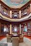 Breathtaking mahogany library - 10301 FIREFLY CIR, FAIRFAX STATION