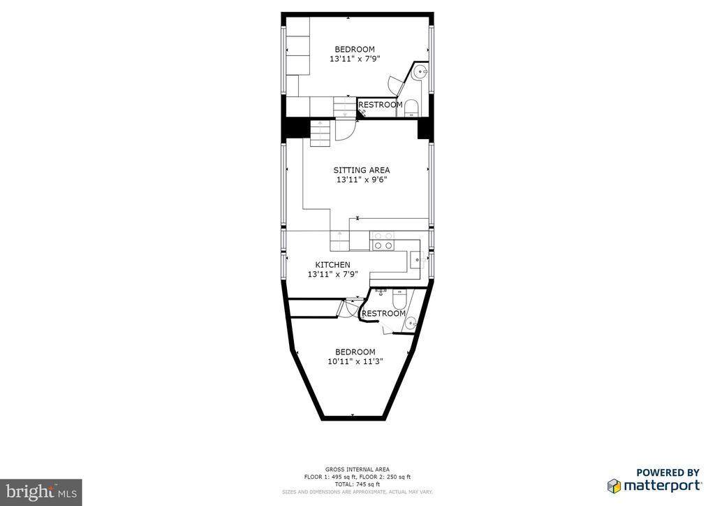 Main Level Living Room - 600 WATER ST SW #Z-8, WASHINGTON