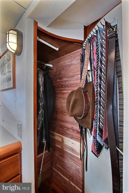 Guest bedroom cedar lined closet - 600 WATER ST SW #Z-8, WASHINGTON
