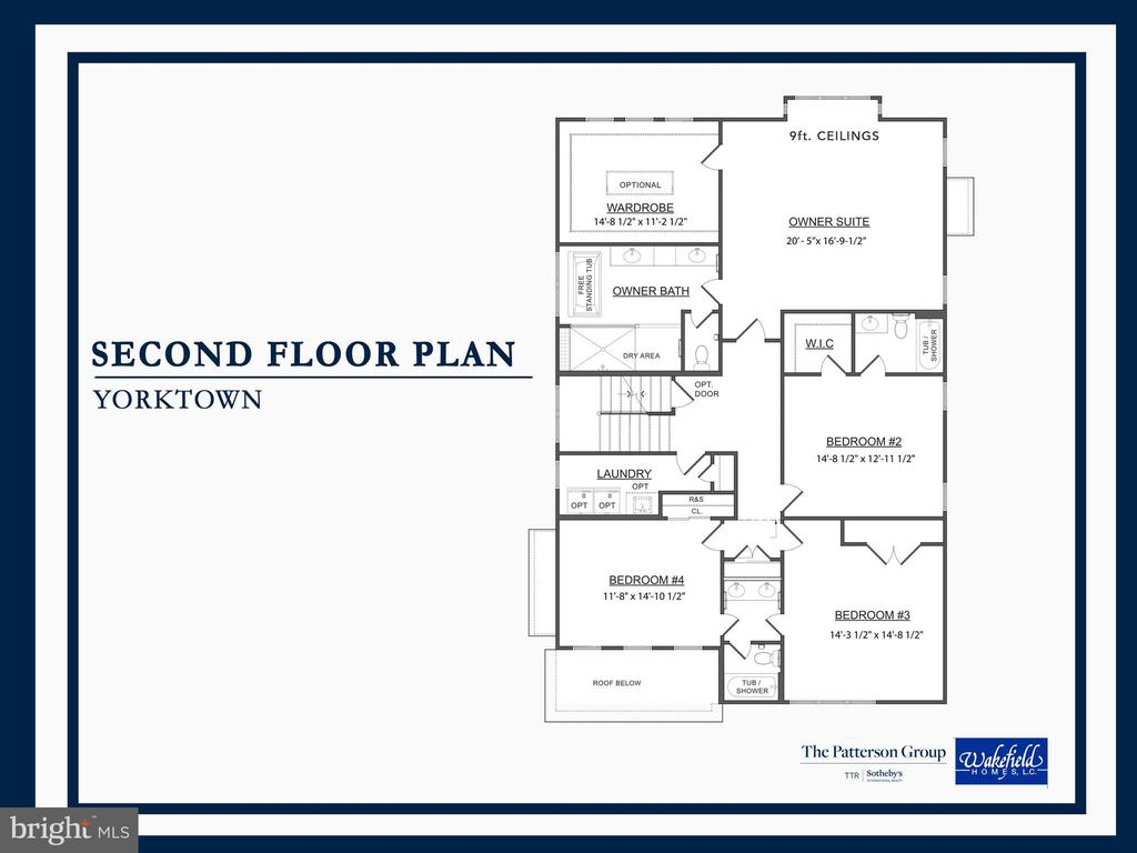 Second Floor Plan - 8107 YORKTOWN DR, ALEXANDRIA