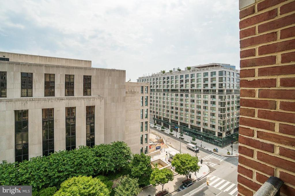 View from Private Balcony - 601 PENNSYLVANIA AVE NW #906, WASHINGTON