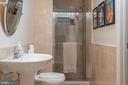 Full Bathroom in Lower Level - 3612 SOUTH PL #7, ALEXANDRIA
