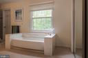 Jacuzzi tub in Master Bath - 3612 SOUTH PL #7, ALEXANDRIA