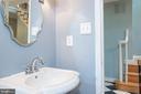 Half Bathroom on Main Level - 3612 SOUTH PL #7, ALEXANDRIA