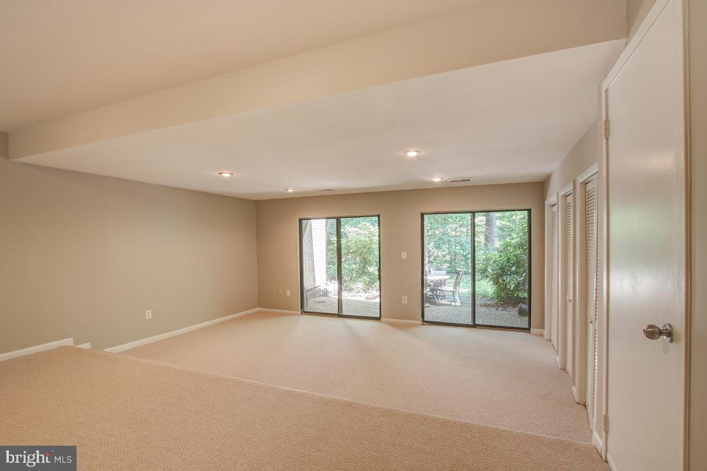 The Rec Room is bright and expansive! - 11316 DOCKSIDE CIR, RESTON