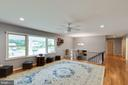 Lots of living room space - 4307 ARGONNE DR, FAIRFAX