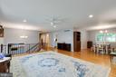 Open floor plan - 4307 ARGONNE DR, FAIRFAX