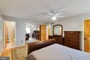 Master bedroom - 4307 ARGONNE DR, FAIRFAX