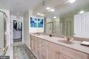 Master Bath with  Dual Sinks - 12086 KINSLEY PL, RESTON