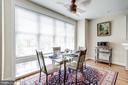 Sunlit Eat in Kitchen w/ Hardwood Floors - 12086 KINSLEY PL, RESTON