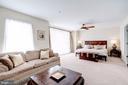 Large Sun Filled Master Bedroom - 12086 KINSLEY PL, RESTON