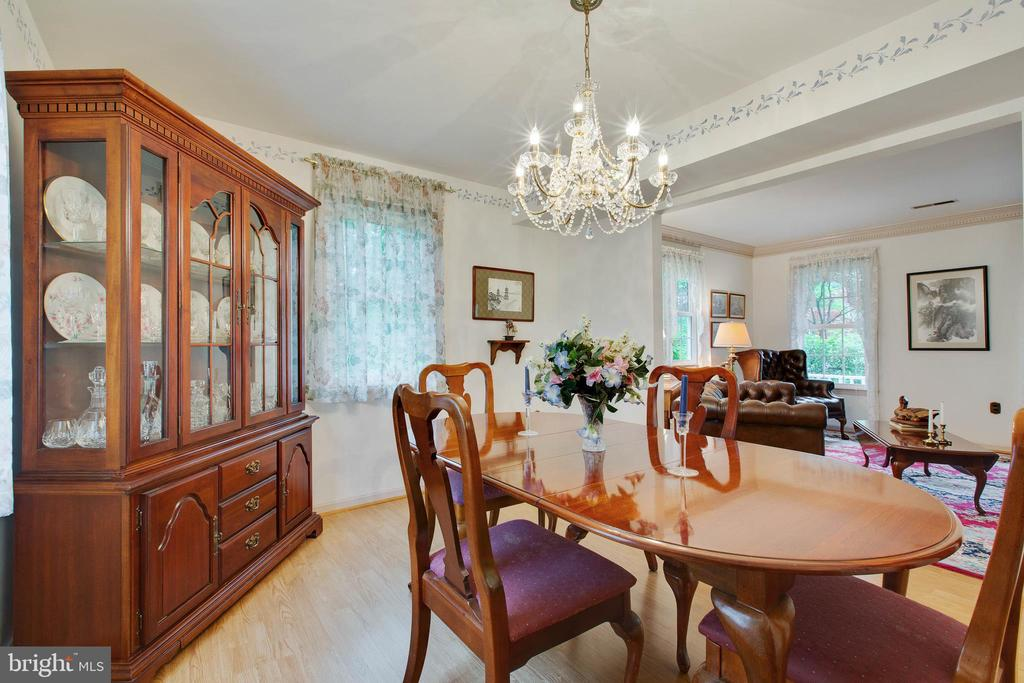 Separate Dining Room - 4109 ELIZABETH LN, FAIRFAX