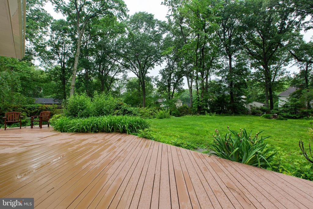 Lovely Deck - 4109 ELIZABETH LN, FAIRFAX