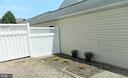Backyard - 25485 FLYNN LN, CHANTILLY