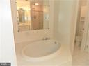 Separate Tub and Shower - 25485 FLYNN LN, CHANTILLY
