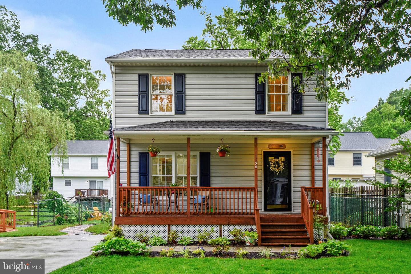 Single Family for Sale at 1196 Spruce Ave Shady Side, Maryland 20764 United States
