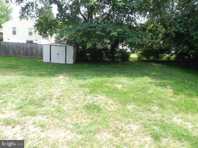 Complete Fenced Back Yard - 7005 LOMBARD LN, FREDERICKSBURG