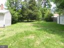 Fenced Back Yard - 7005 LOMBARD LN, FREDERICKSBURG