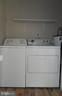 Washer and Dryer - 7005 LOMBARD LN, FREDERICKSBURG