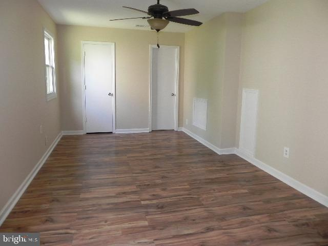Master Bedroom with  2 separate closets - 7005 LOMBARD LN, FREDERICKSBURG