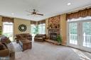 Large open Family Room, plenty of light! - 42835 CONQUEST CIR, BRAMBLETON