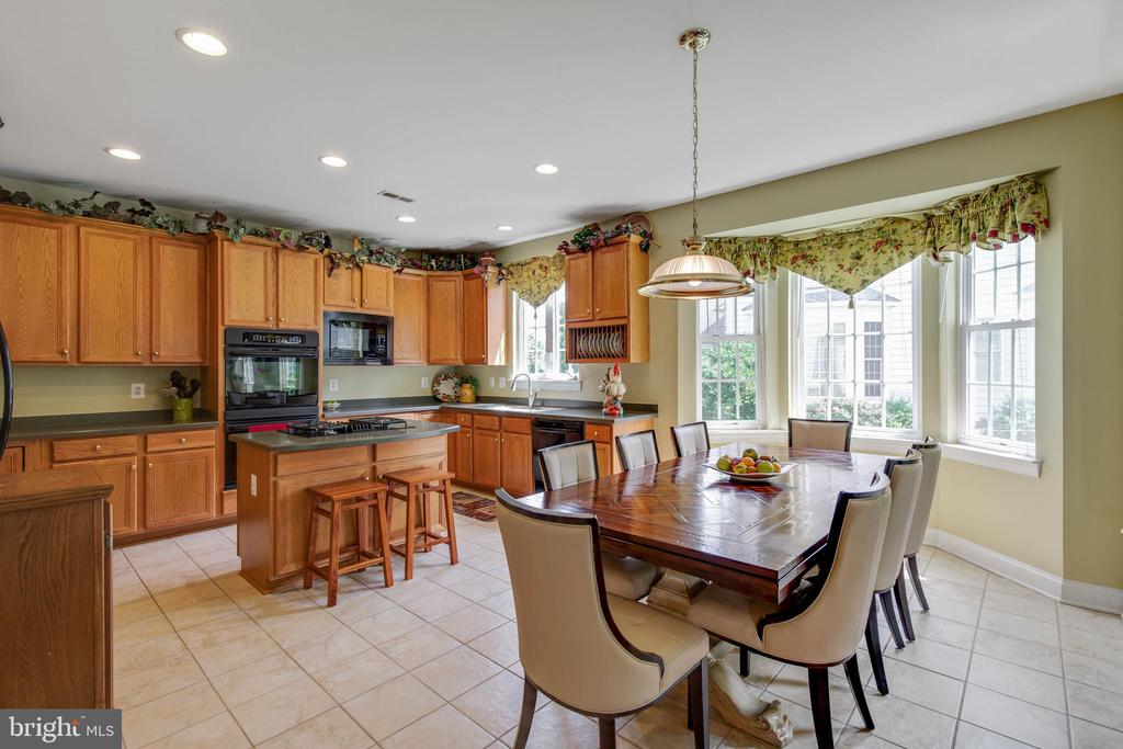 Large kitchen with plenty of cabinets - 42835 CONQUEST CIR, BRAMBLETON