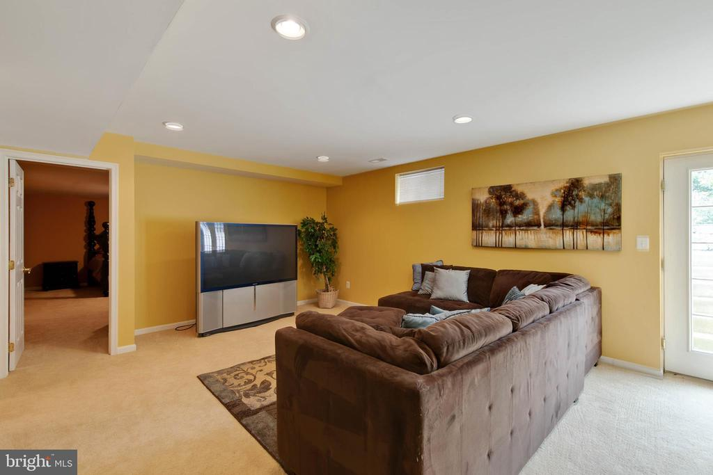 Basement entertainment area - 42835 CONQUEST CIR, BRAMBLETON