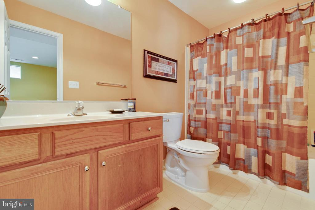 Basement bath - 42835 CONQUEST CIR, BRAMBLETON