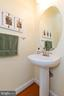 1st floor half bath - 42835 CONQUEST CIR, BRAMBLETON