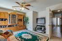 Rec Room, Family Room, or Man Cave - 107 STINGRAY CT, STAFFORD