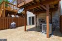 Backyard Patio - 107 STINGRAY CT, STAFFORD